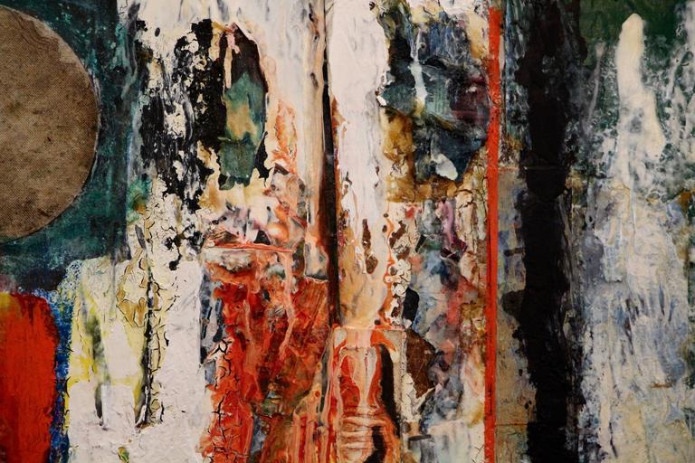 George Dergalis 1998 Mixed-Media on Acid Free Board Newly Framed 3