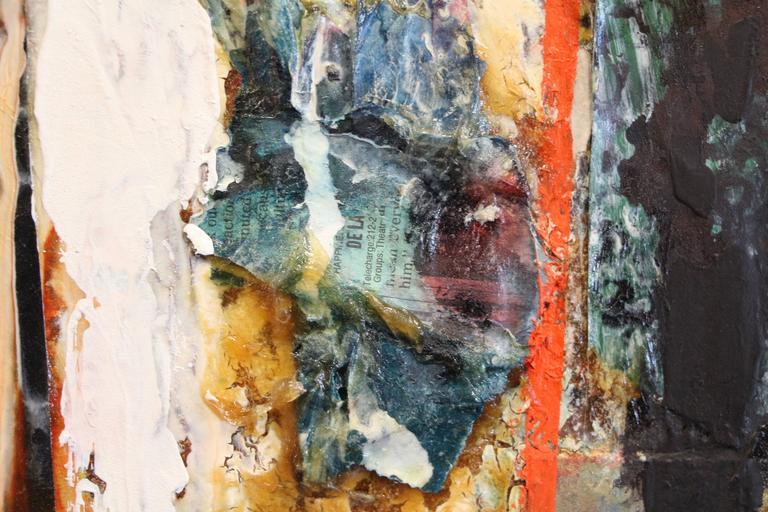George Dergalis 1998 Mixed-Media on Acid Free Board Newly Framed 5