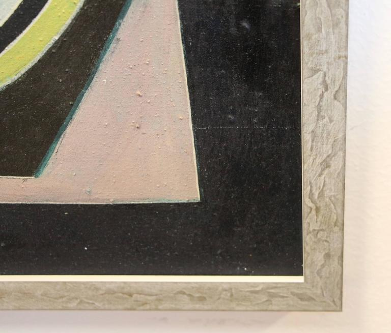 George Dergalis 1964 Painting In Good Condition For Sale In Palm Springs, CA