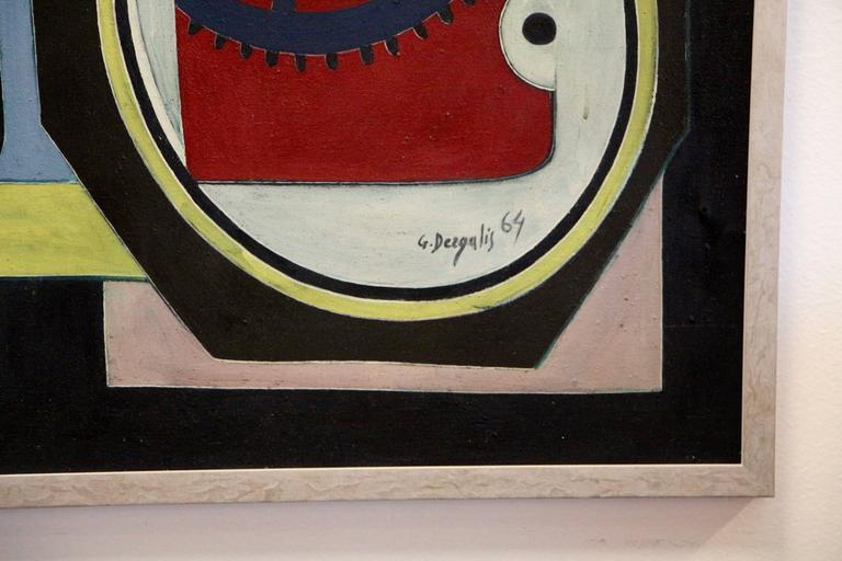 George Dergalis 1964 Painting For Sale 1