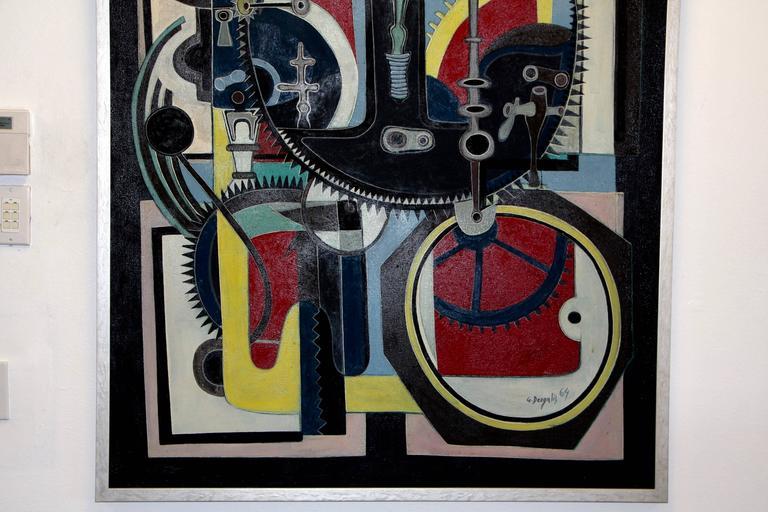 George Dergalis 1964 Painting For Sale 2