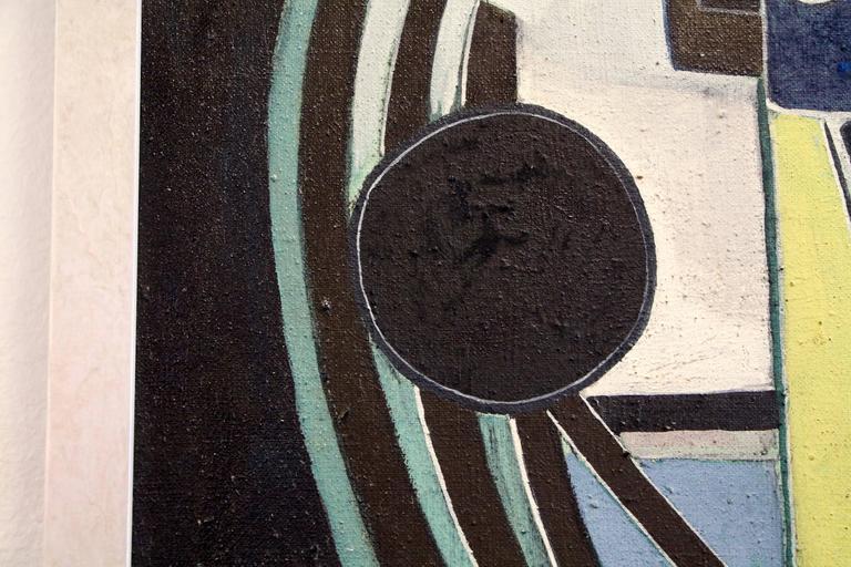 George Dergalis 1964 Painting For Sale 5
