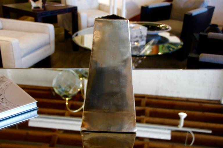 Unknown James Johnston Brass Vase For Sale