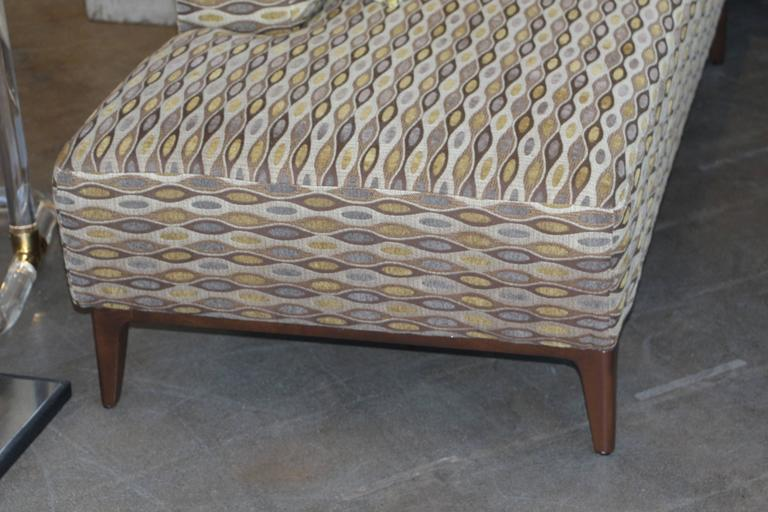 American Nice Sectional Sofa in a Nice Fabric For Sale