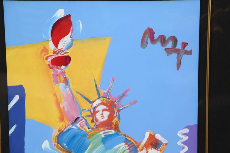 """Peter Max """"Statue of Liberty"""", 2001 4"""