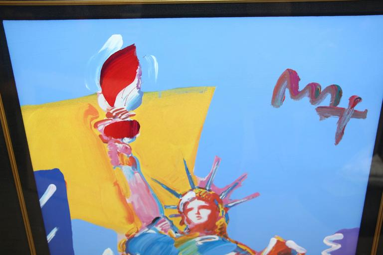 """Peter Max """"Statue of Liberty"""", 2001 6"""