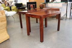 Nice Pair of Mid-Century Modern Vejle Stole Mobelfabrik Rosewood End Tables