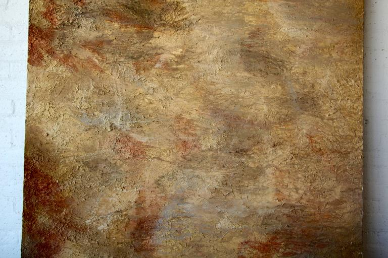 Paint Large Tonal Abstract For Sale