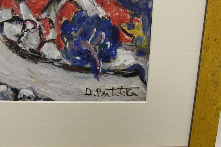 Hand-Crafted  Abstract by Croatian Artist Duro Politika For Sale