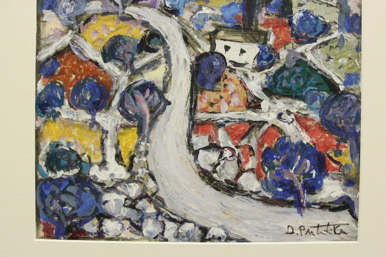 Abstract by Croatian Artist Duro Politika In Good Condition For Sale In Palm Springs, CA