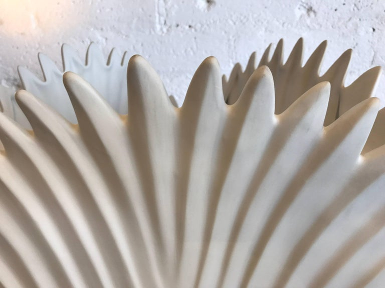 Mid-20th Century Italian Bisque Porcelain Lamps For Sale
