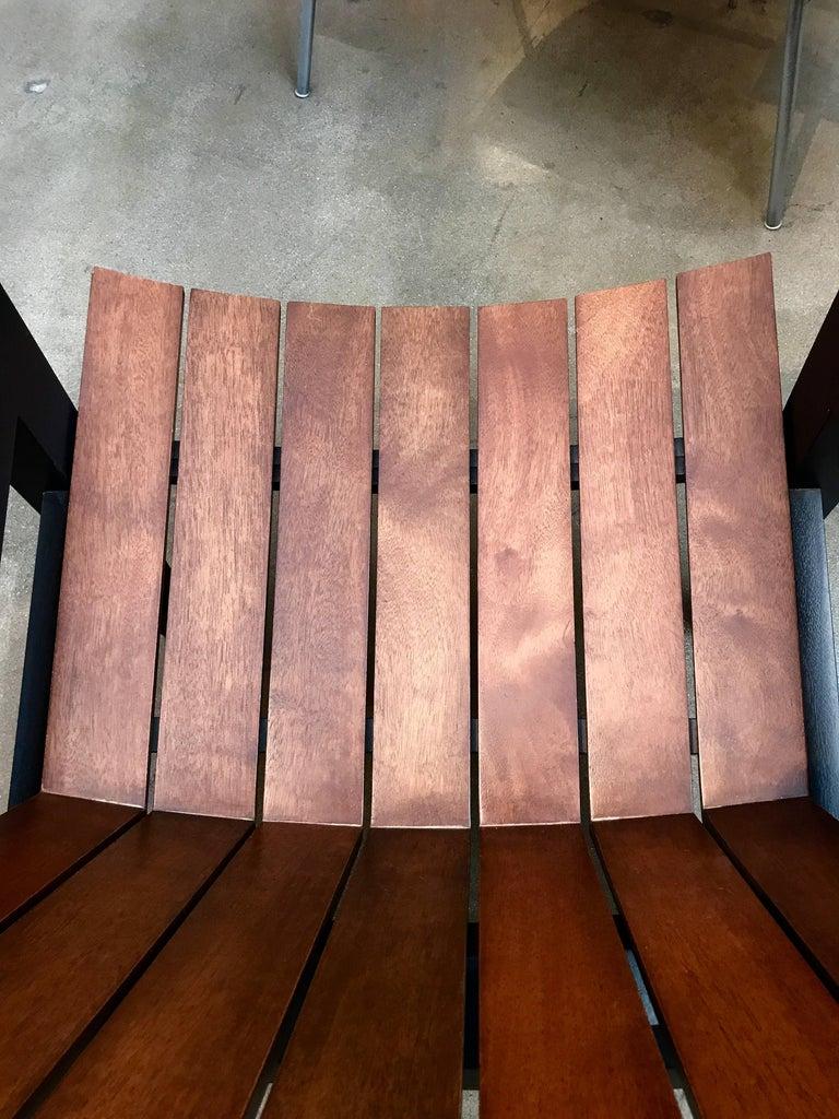 American Rob Edley Welborn Prototype Neo-Adirondack Chair For Sale