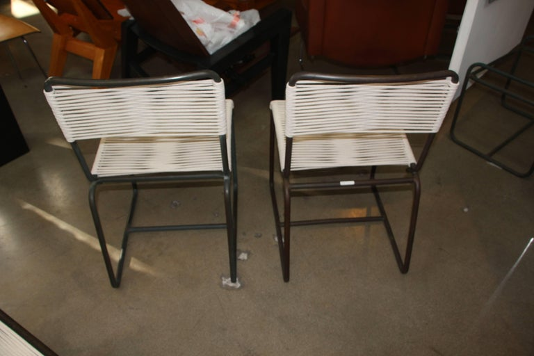 American Two Side Chairs by Walter Lamb for Brown Jordan For Sale