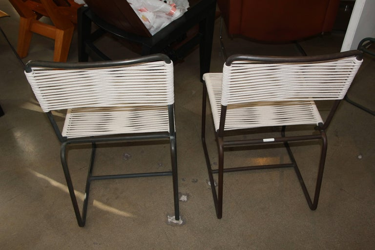 Mid-20th Century Two Side Chairs by Walter Lamb for Brown Jordan For Sale