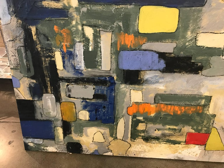 American Abstract by Noted Palm Springs Artist Jeff King For Sale