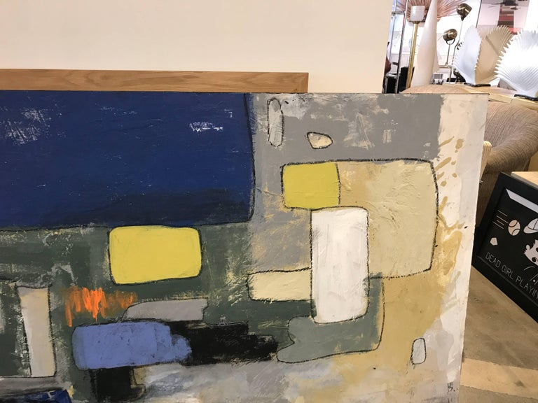 Contemporary Abstract by Noted Palm Springs Artist Jeff King For Sale