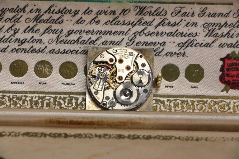 1950s 14-Karat Gold Longines Maunaul Wind Watch in ...