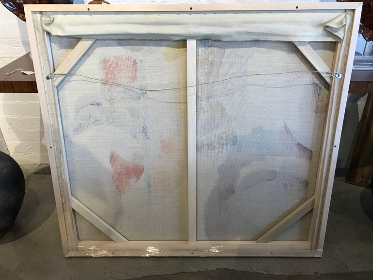 George Dergalis 1993 Painting on Linen of Three Nude Woman For Sale 3