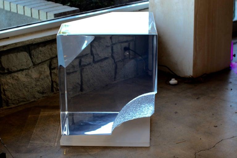 Acrylic Bijan Bahar Lucite Sculpture For Sale
