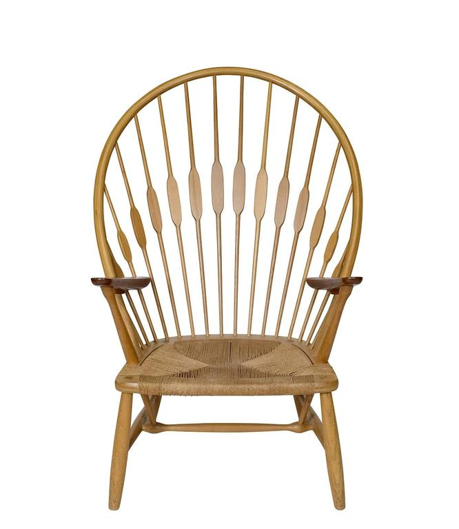 Hans Wegner Quot Peacock Quot Chair For Sale At 1stdibs