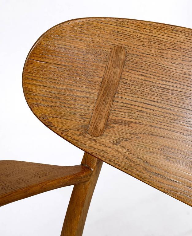 Hans Wegner CH-22 Lounge Chair For Sale 3