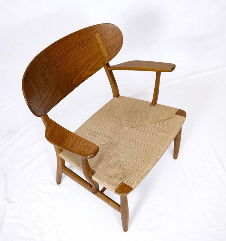 Hans Wegner CH-22 Lounge Chair 8