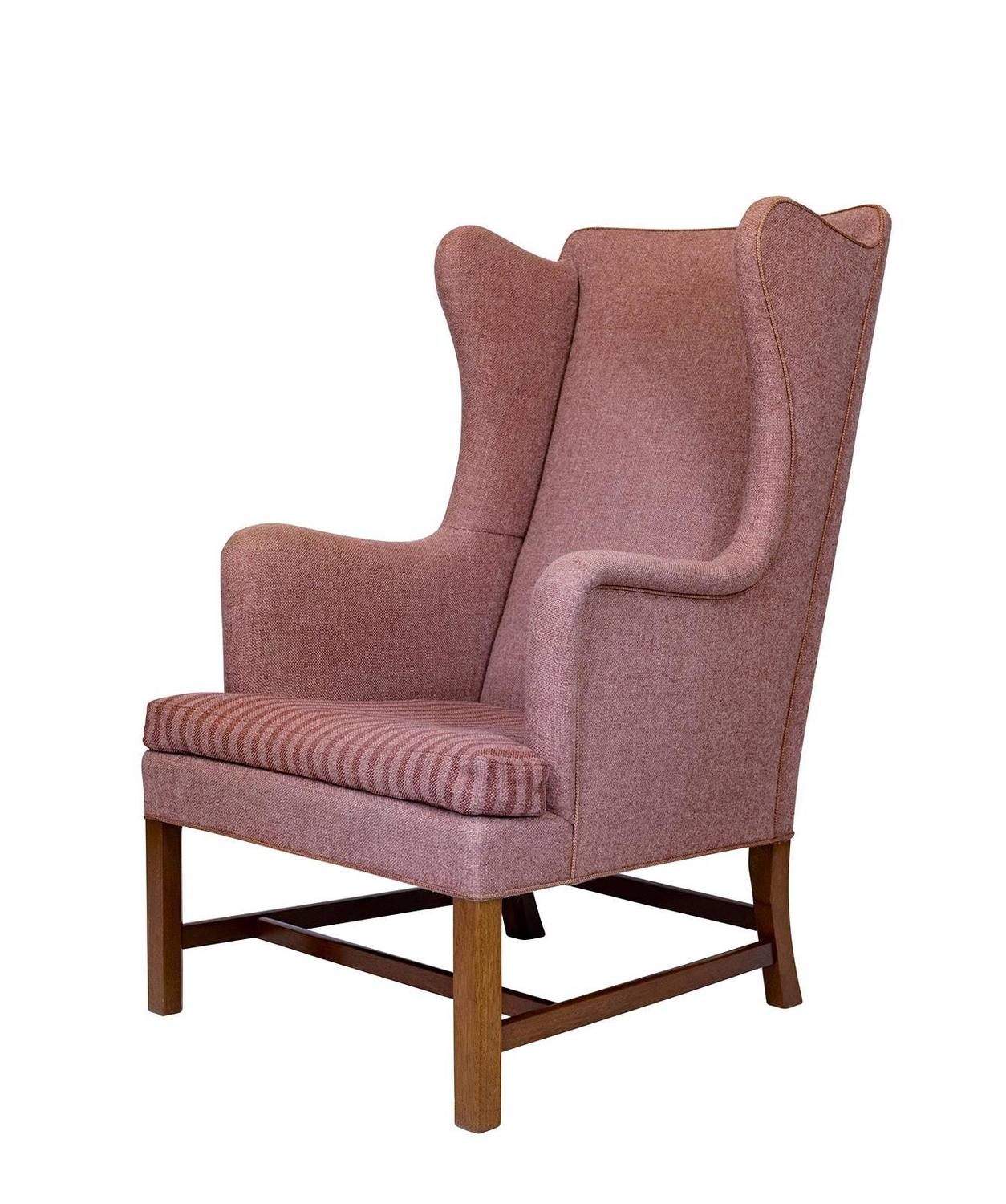 Kaare Klint Wingback Chair For Sale at 1stdibs