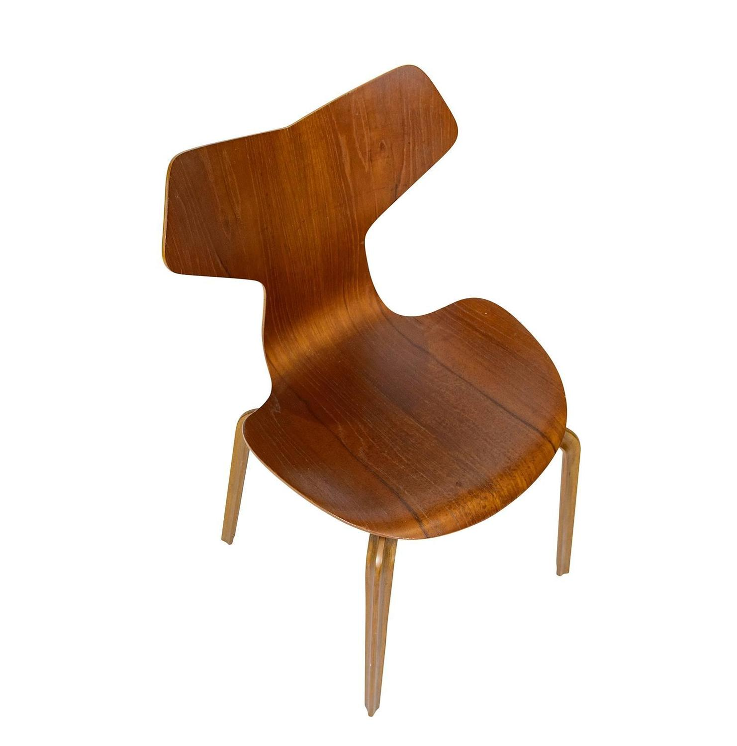 Set of four arne jacobsen grand prix chairs for sale at 1stdibs - Chaise grand prix jacobsen ...