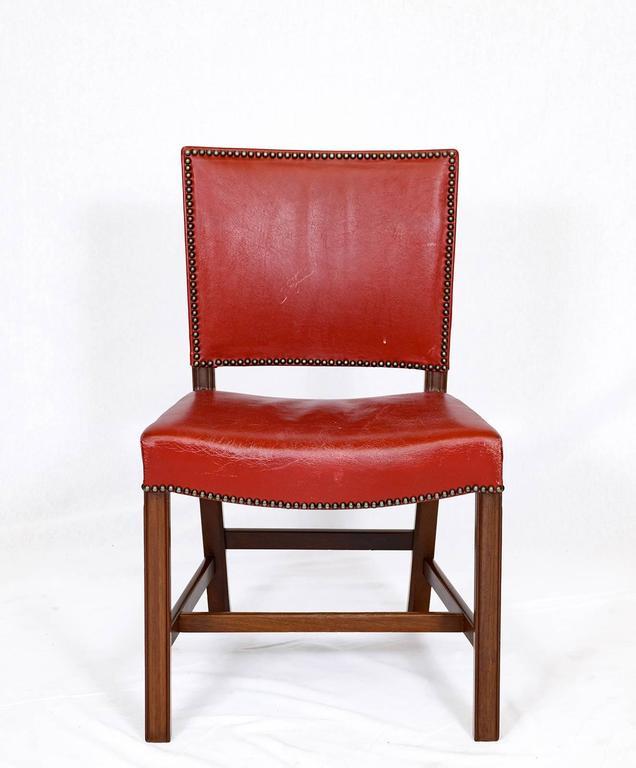 Set of Ten Kaare Klint Dining Chairs at 1stdibs