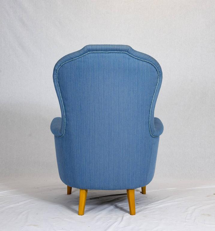 Mid-20th Century Carl Malmsten Lounge Chair For Sale