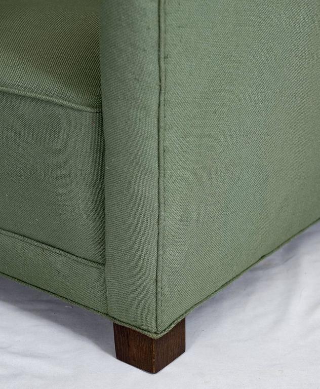 Fritz Hansen High Back Lounge Chair For Sale 1