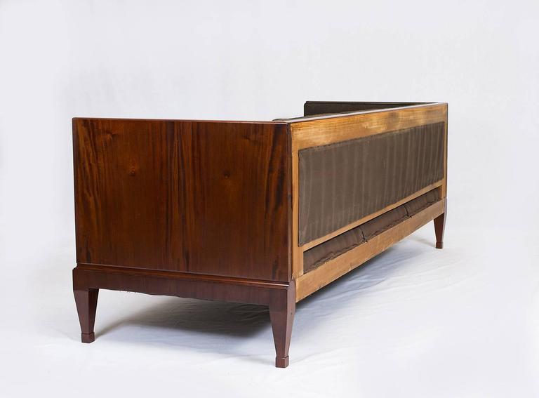Mid-20th Century Frits Henningsen Sofa For Sale