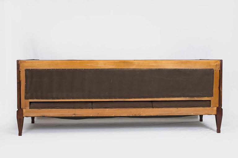 Fabric Frits Henningsen Sofa For Sale