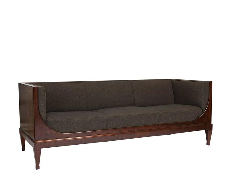Frits Henningsen sofa.  We have this exact same sofa in a blue fabric.