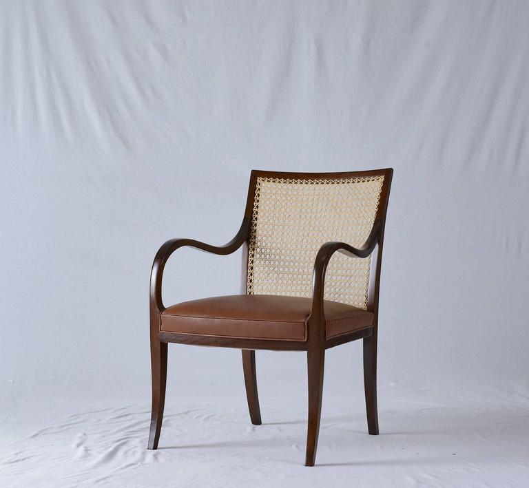 Frits Henningsen Armchair In Excellent Condition For Sale In Los Angeles, CA