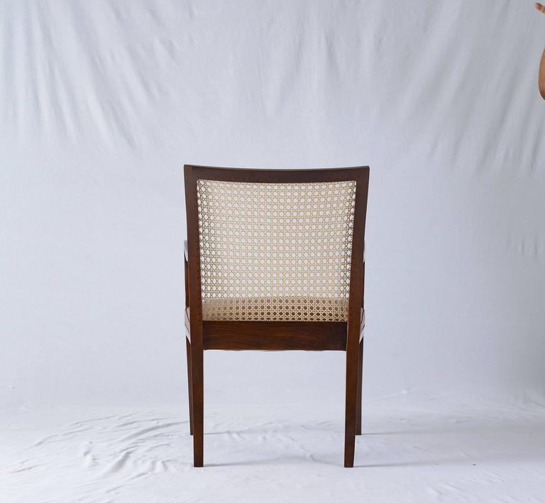 Cane Frits Henningsen Armchair For Sale