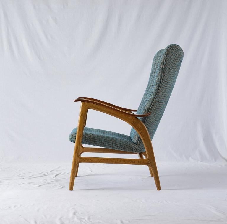 Danish Wingback Lounge Chair 4