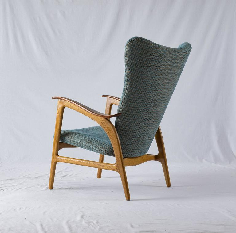 Danish Wingback Lounge Chair 6