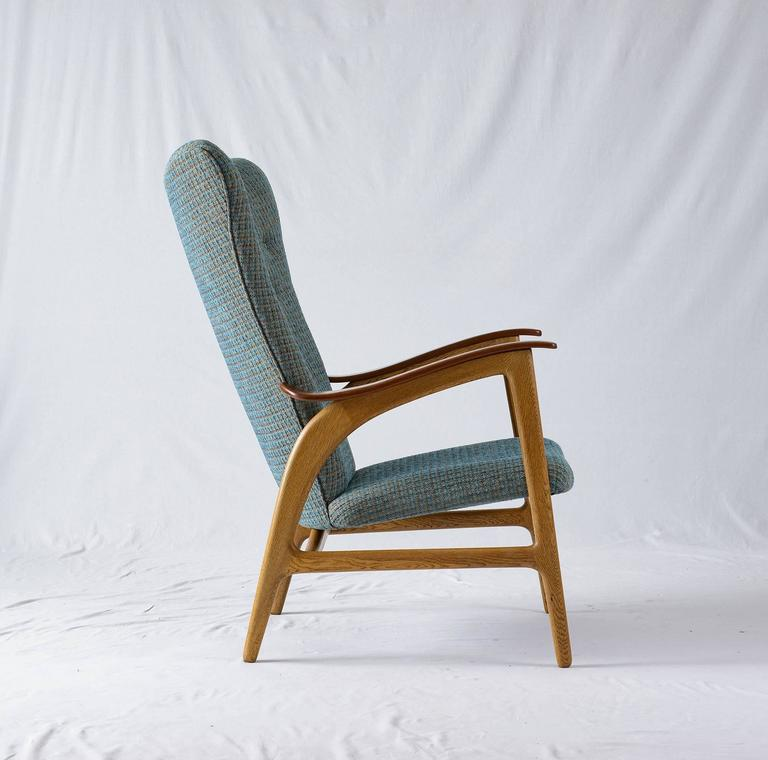 Danish Wingback Lounge Chair 3