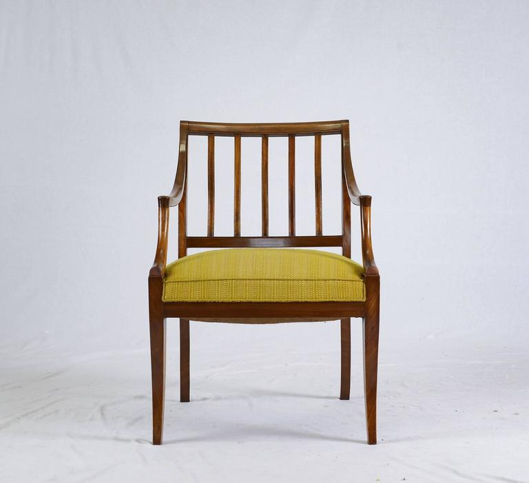 Scandinavian Modern Frits Henningsen Armchair For Sale