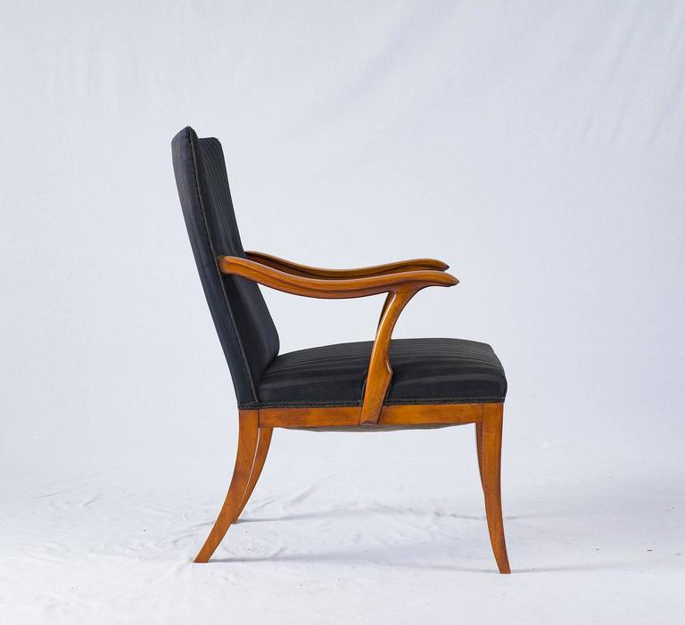 Danish Frits Henningsen Lounge Chair For Sale