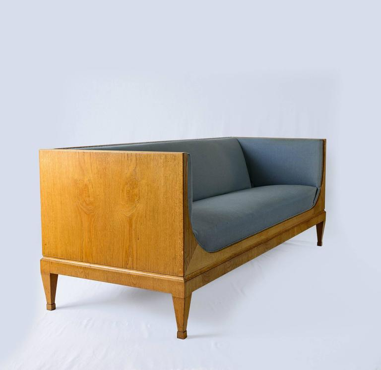 Scandinavian Modern Frits Henningsen Sofa For Sale