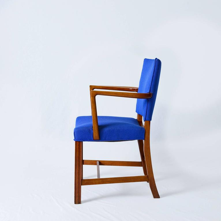 Set of Six Kaare Klint Armchairs In Good Condition For Sale In Los Angeles, CA