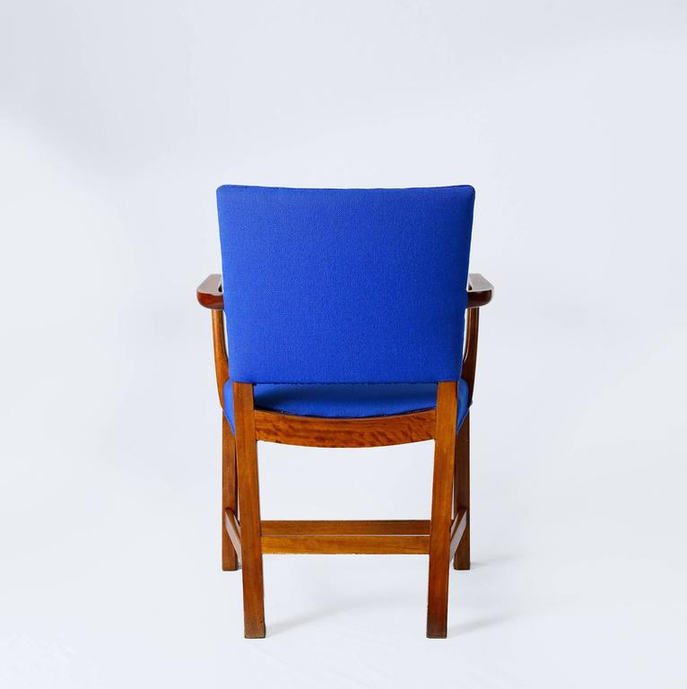Mahogany Set of Six Kaare Klint Armchairs For Sale