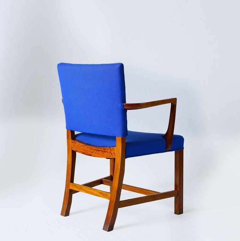 Mid-20th Century Set of Six Kaare Klint Armchairs For Sale