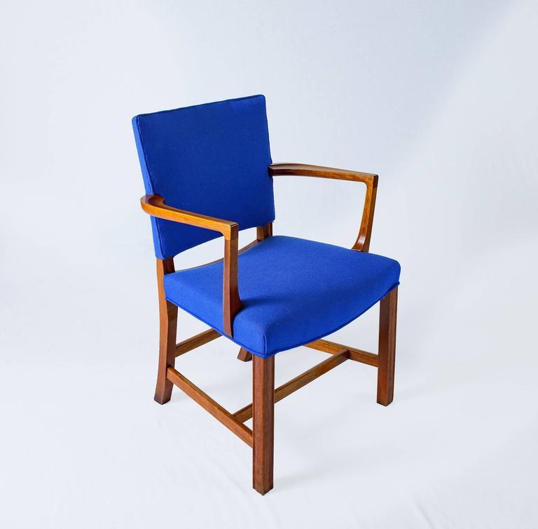 Danish Set of Six Kaare Klint Armchairs For Sale