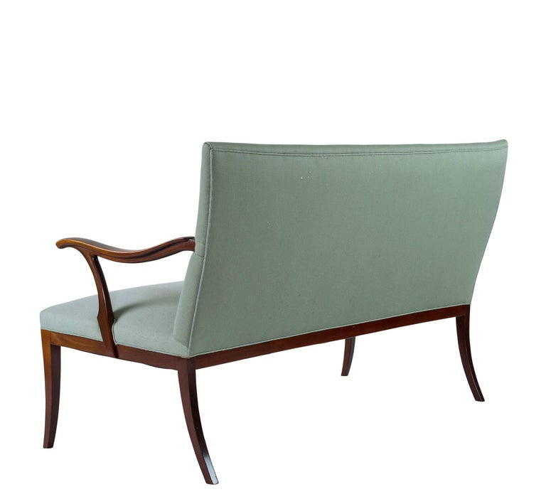Danish Frits Henningsen Settee For Sale