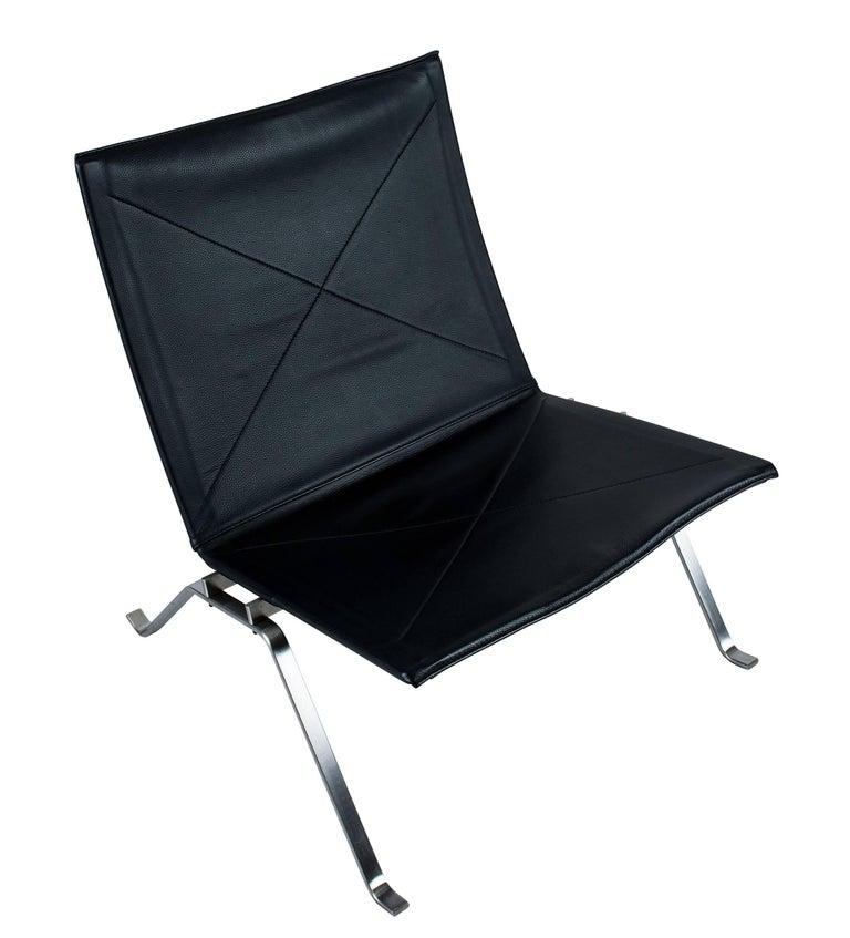 Pair of Poul Kjaerholm PK 22 Lounge Chairs by Fritz Hansen 3