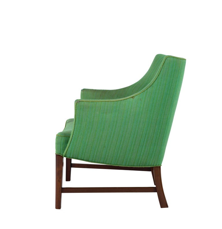 Danish Frits Henningsen Lounge Chair For Sale