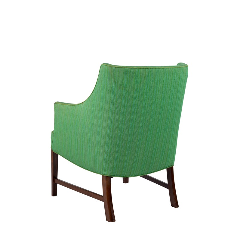 Frits Henningsen Lounge Chair In Good Condition For Sale In Los Angeles, CA